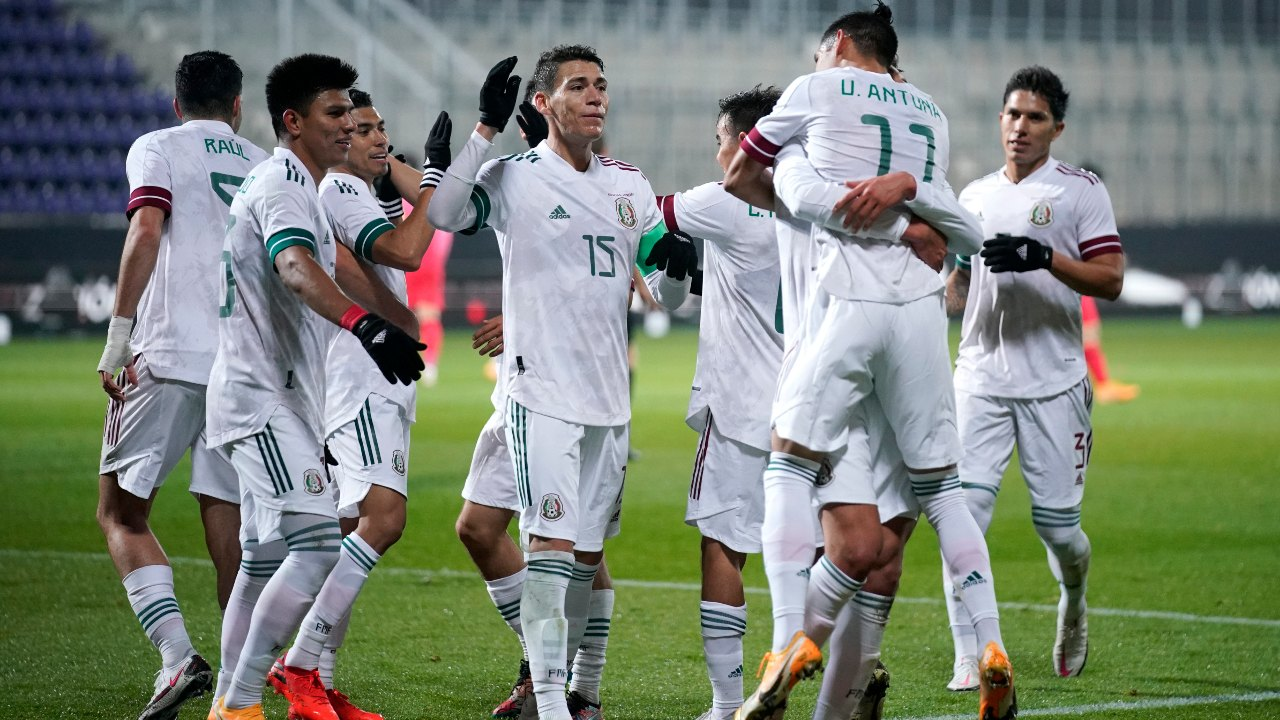 Selección Mexicana partido honduras estados unidos 2021