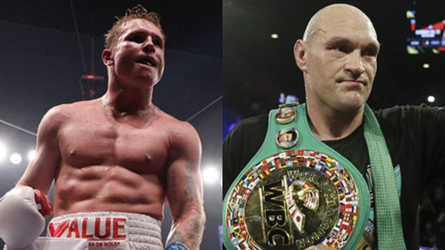Tyson Fury Billy Joe Saunders Canelo alvarez