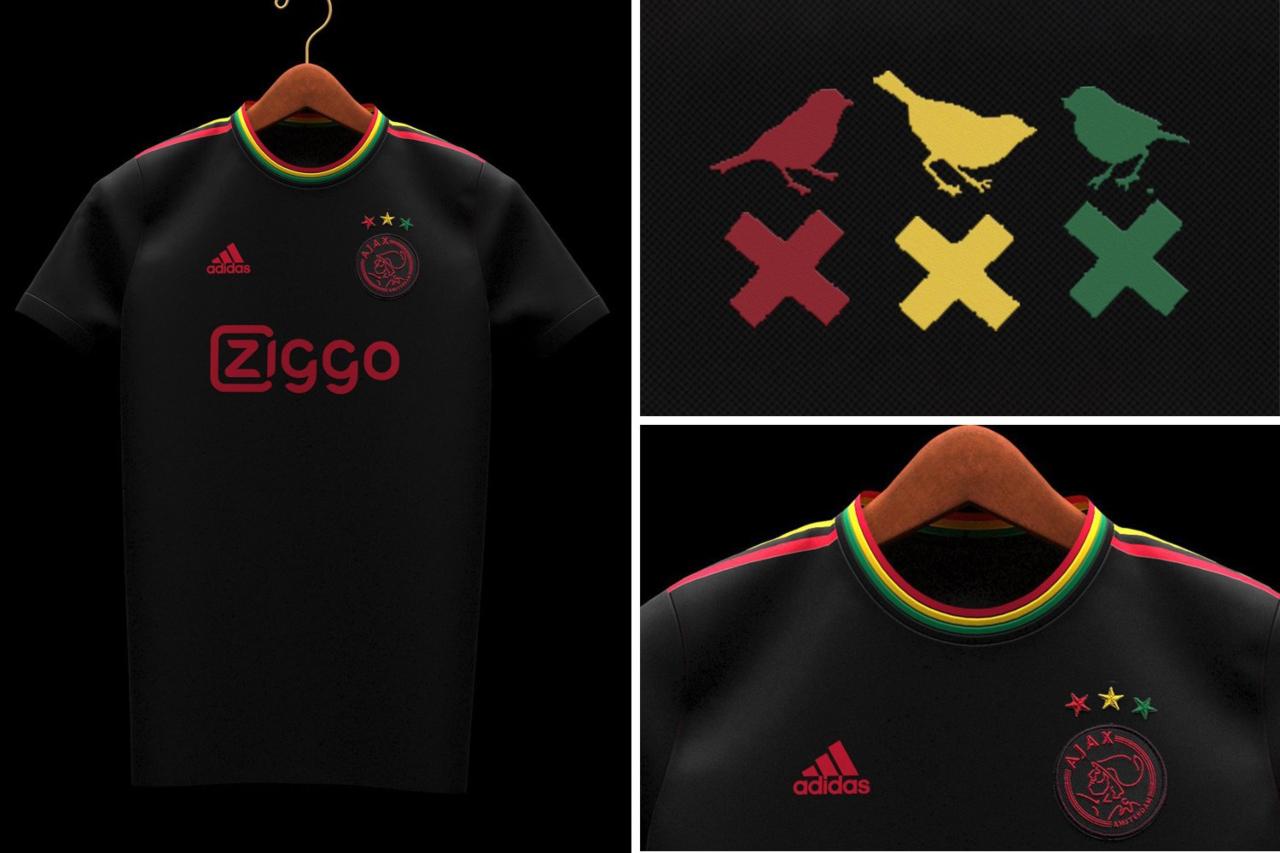 Ajax usará la playera inspirada en Bob Marley