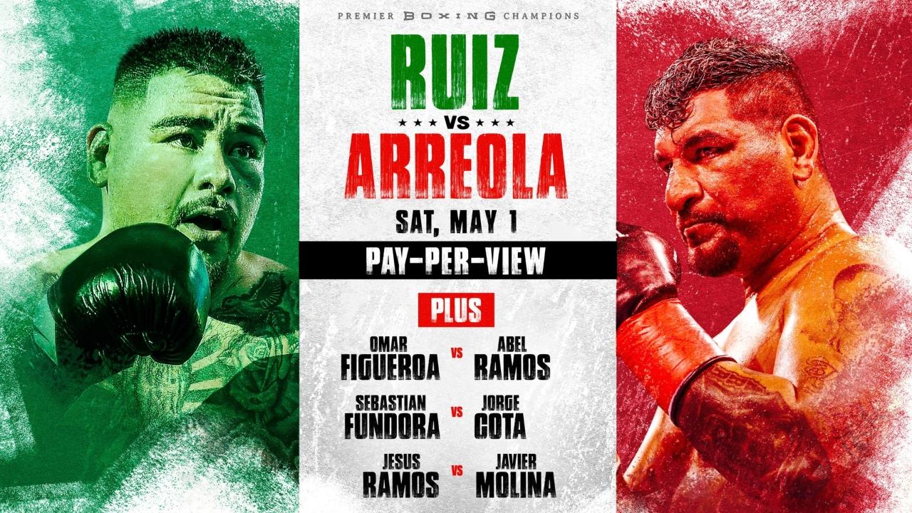 Andy Ruiz vs Chris Arriola