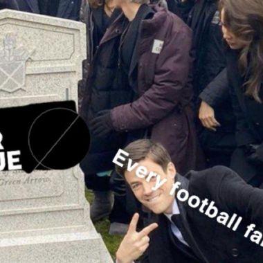 Memes de la muerte de la Superliga Europea
