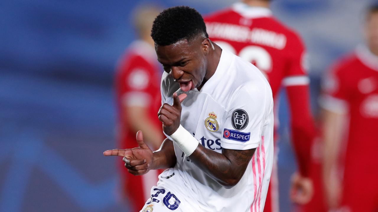 Real Madrid vence Liverpool goles de Vinicius Jr.