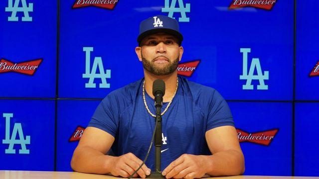 Los Angeles Dodgers Albert Pujols refuerzo 2021