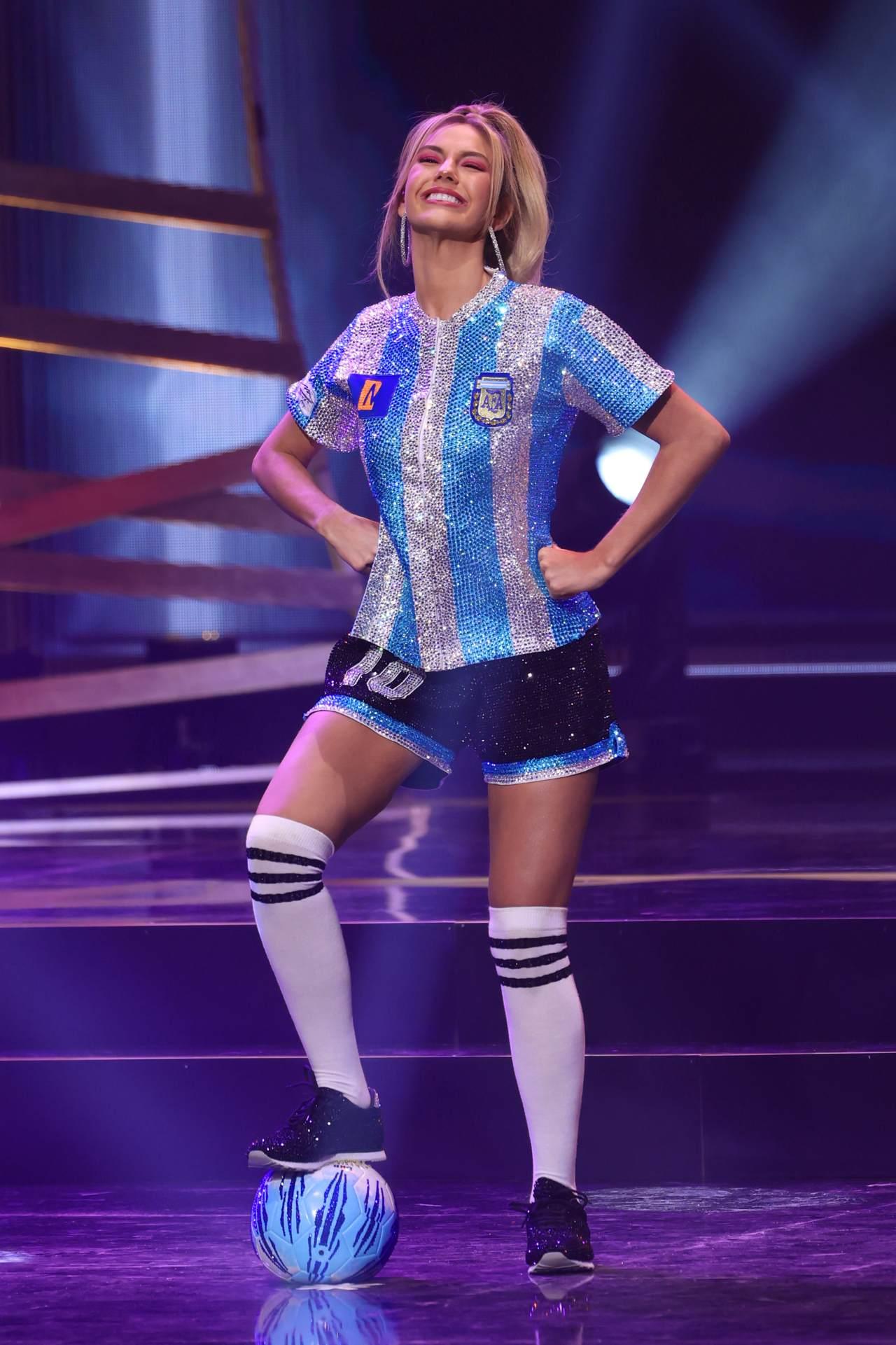 Alina Akselrad miss universo diego armando maradona