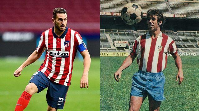 Atlético de Madrid jugadores más partidos