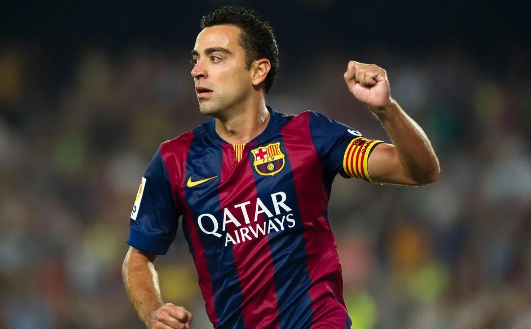 Barcelona jugadores más partidos Xavi Hernández