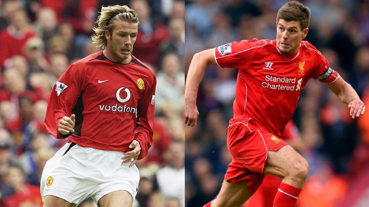 David Beckham Gerrard miembros Salón de la Fama