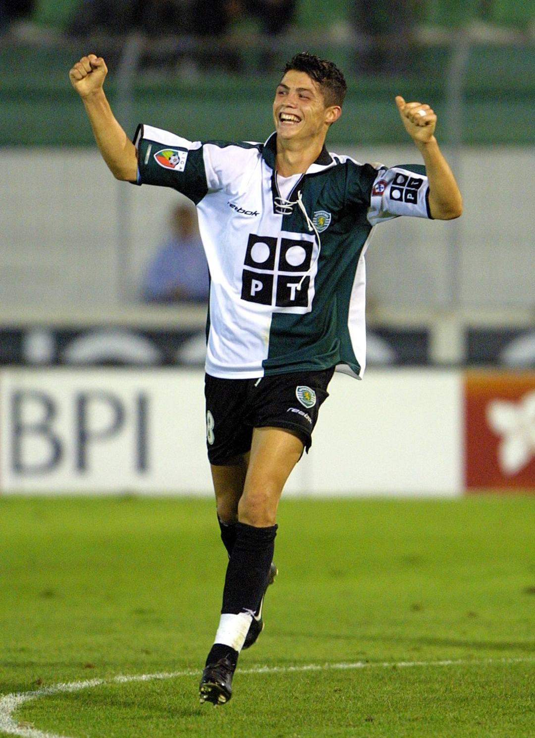 Cristiano Ronaldo retiro Sporting Lisboa Juventus