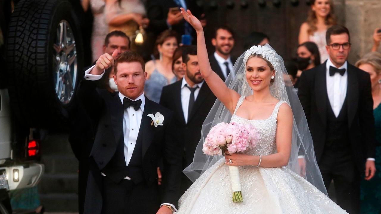 Canelo boda Fernanda Gómez costo