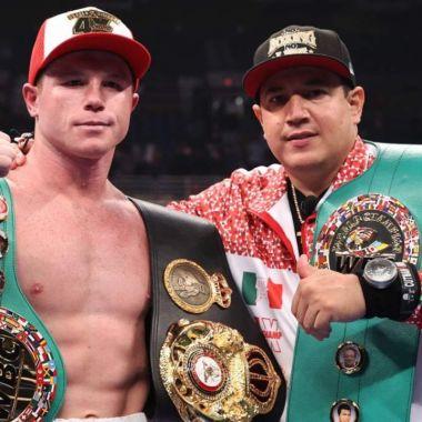 Eddy Reynoso saul 'Canelo alvares saunders box pelea