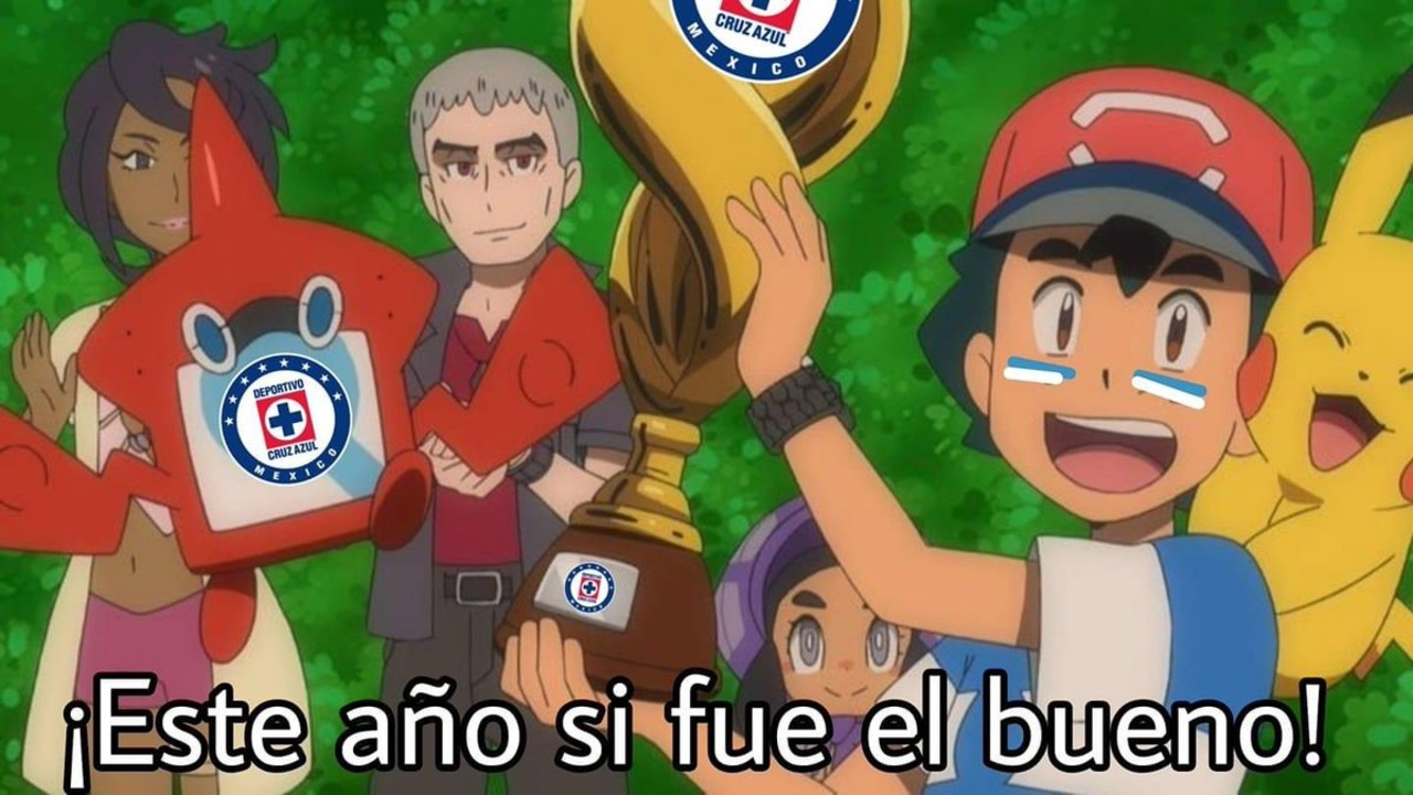 Cruz Azul memes campeón Liga BBVA MX