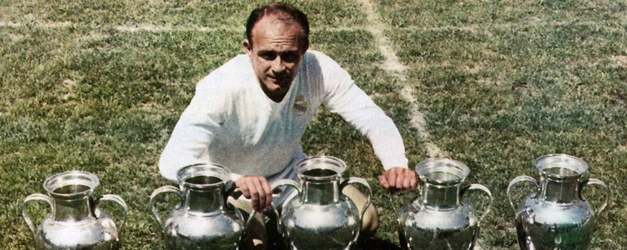 Jugadores más Champions League Alfredo Di Stéfano