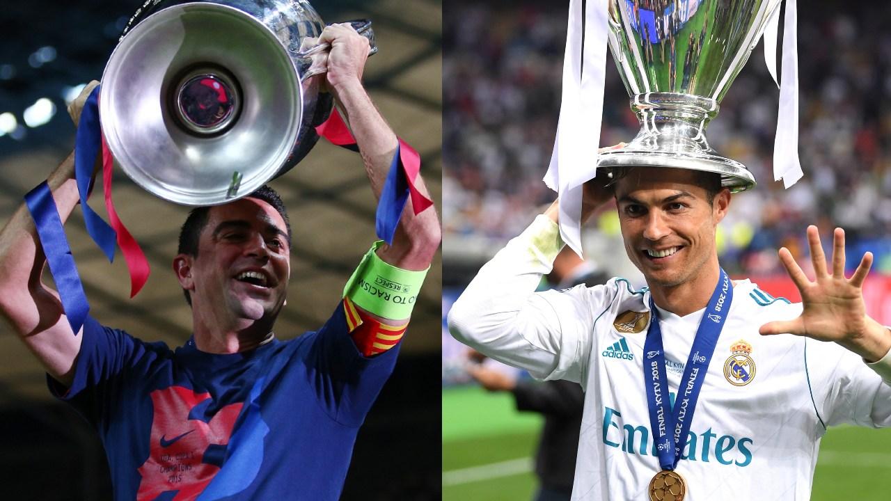 Jugadores más ganadores Champions League