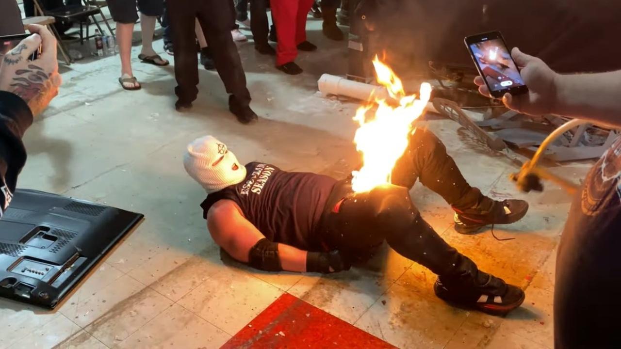 Lucha libre tragedia fuego JJ Escobar