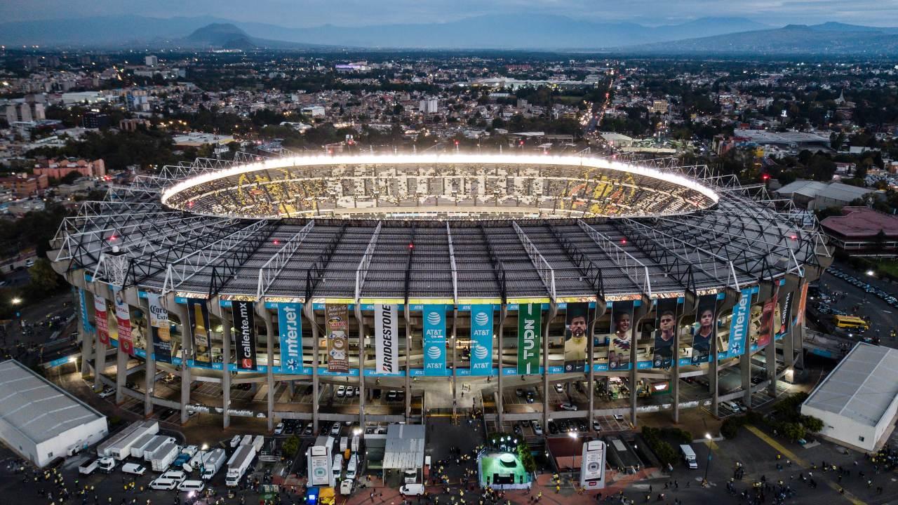 Estadio Azteca inauguración mayo 1966