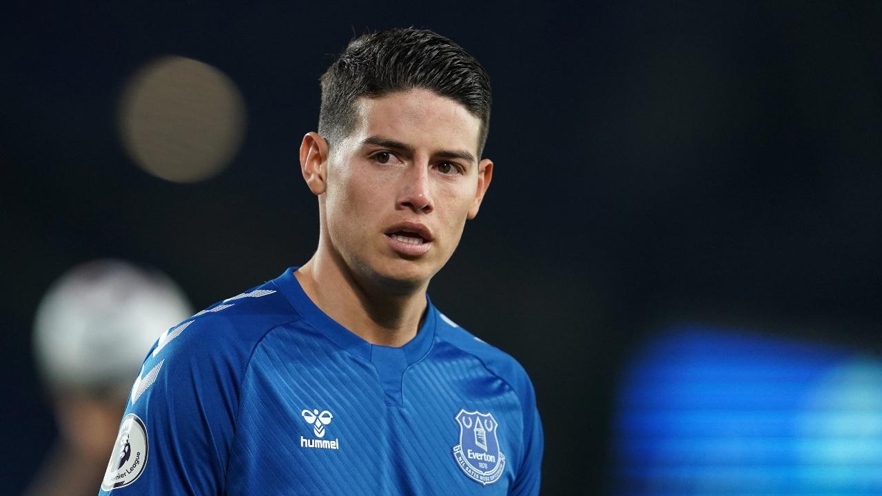 James Rodríguez retiro pronto Everton Colombia
