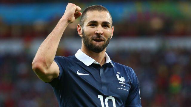 Karim Benzema selección francia francesa eurocopa 2020