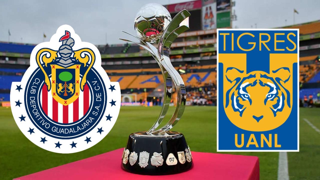 Liga BBVA MX Femenil Tigres chivas guard1anes 2021