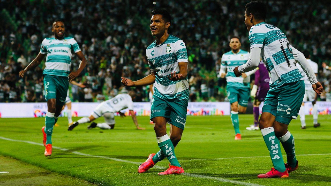 Liga BBVA MX: Santos Laguna golea a Puebla en la semifinal del Guard1anes 2021