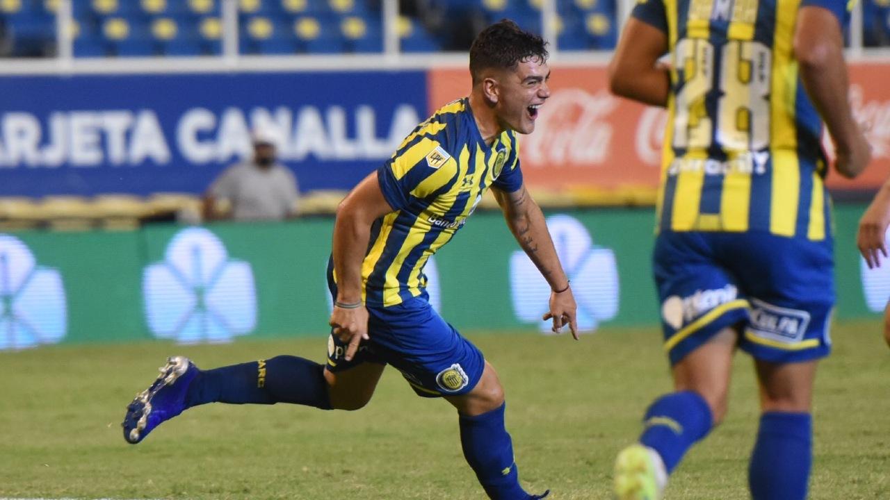 Luca Martínez Dupuy mexicano gol Clásico Rosario Central