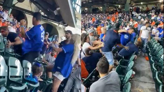 MLB bronca pelea Dodgers contra Astros