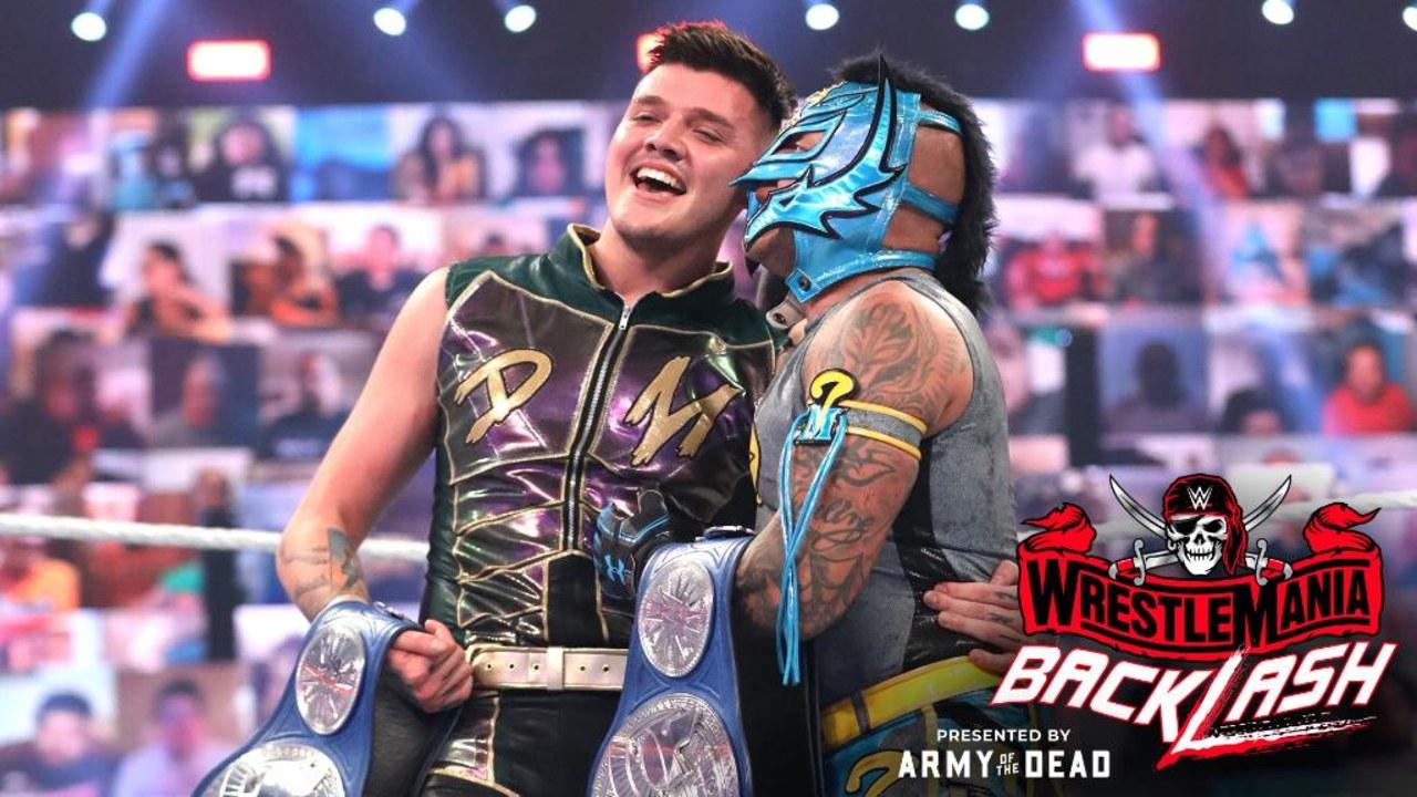 Rey Mysterio Dominik campeones WWE