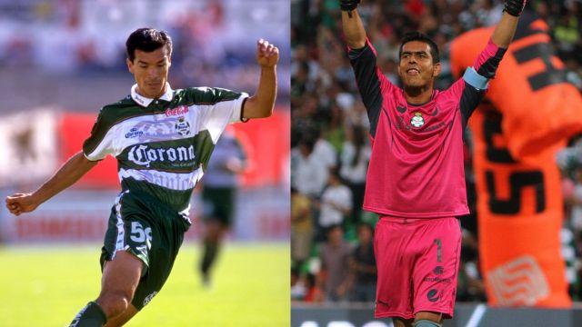 Santos Laguna jugadores con más partidos