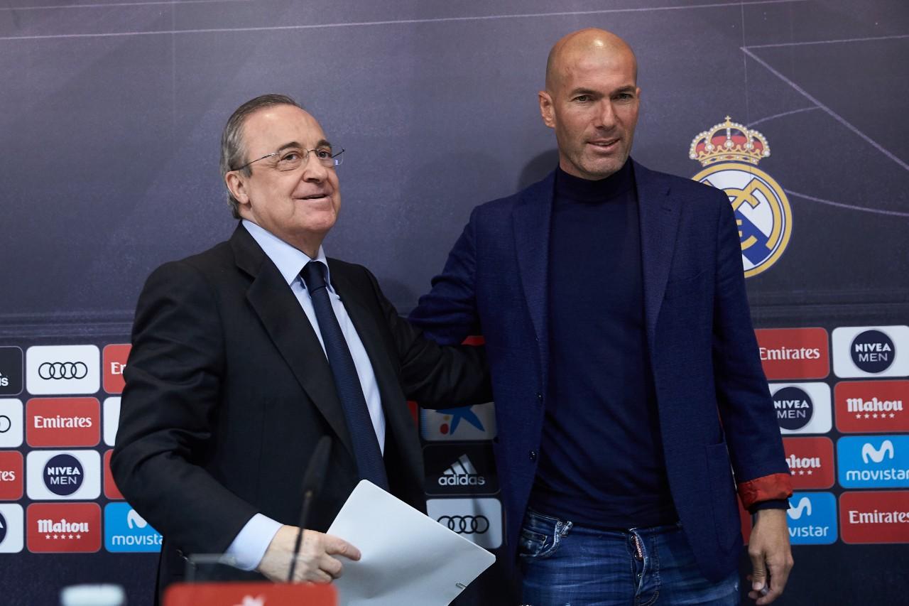 Zidane falta confianza Real Madrid