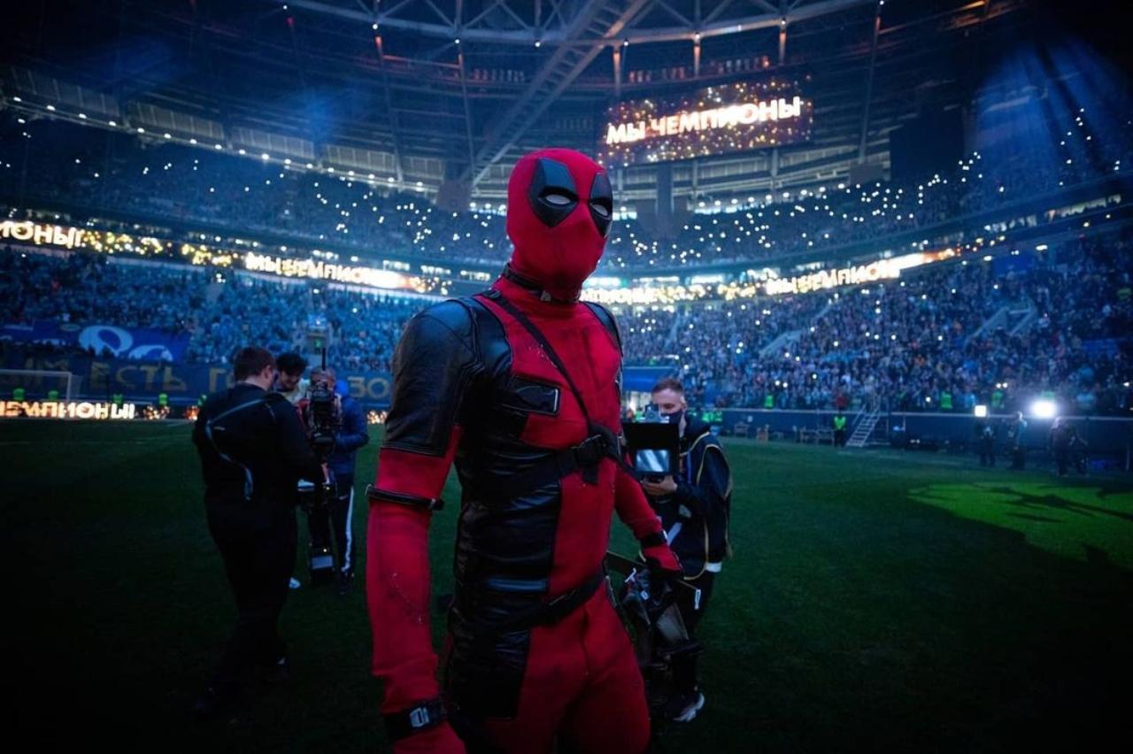 Artem premiación Zenit Deadpool