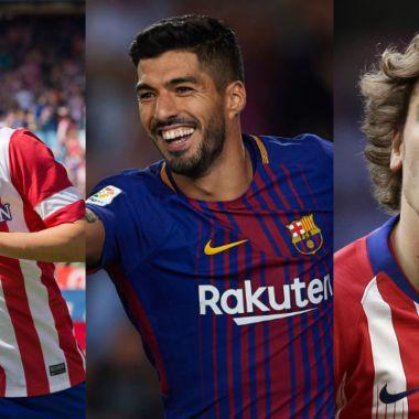 Barcelona y Atlético de Madrid jugadores que han vestido ambas playeras