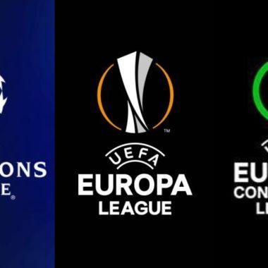 UEFA Clasificados competiciones europeas