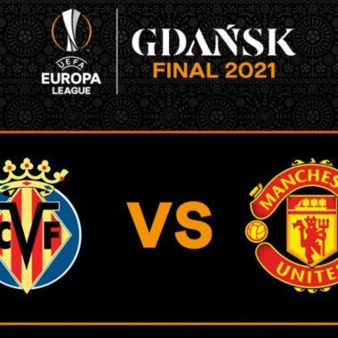 Final UEFA Europa League Villarreal vs. Manchester United