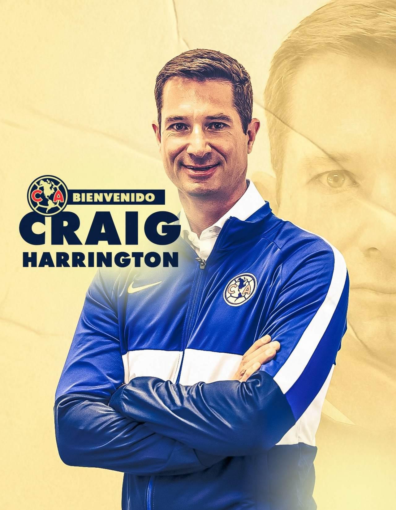 América Femenil Craig Harrington entrenador