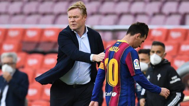 Ronald Koeman técnico Barcelona
