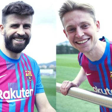 Barcelona camiseta 2021 22 presentación oficial