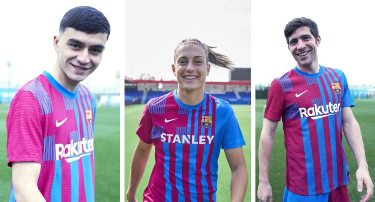Barcelona camiseta temporada 2021 22