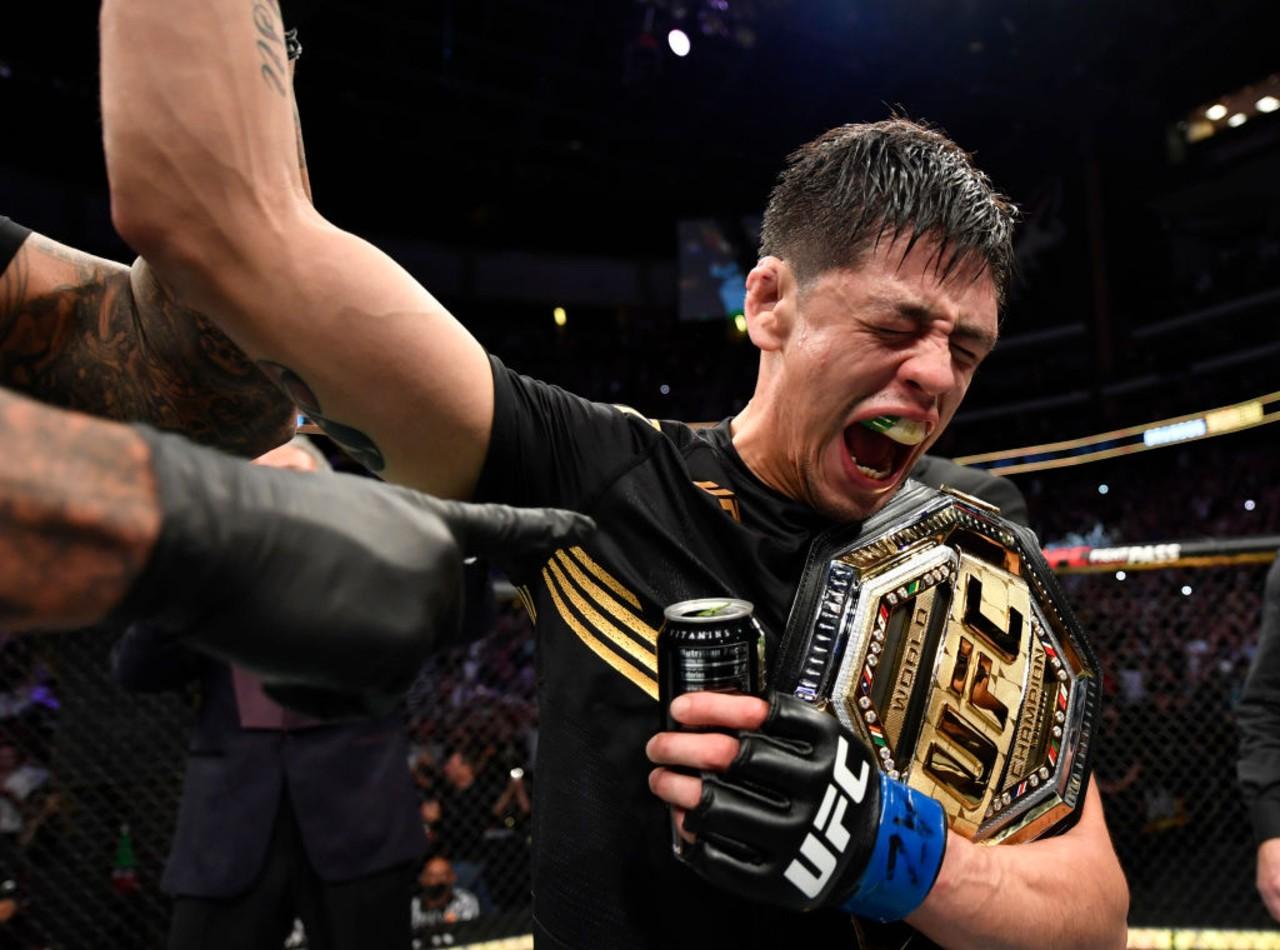 Brandon Moreno campeón UFC Chicharito
