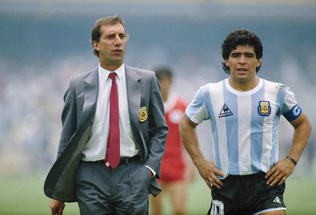 Maradona Carlos Bilardo Mundial México 86