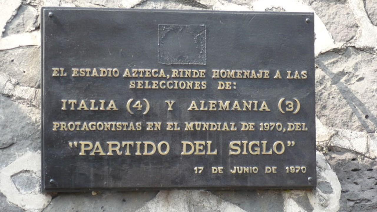 Partido del siglo estadio azteca