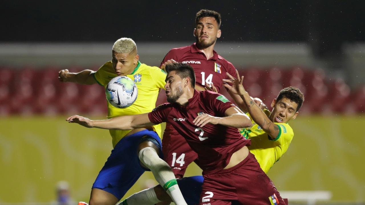 Copa América 2021 Brasil Venezuela alineaciones partido