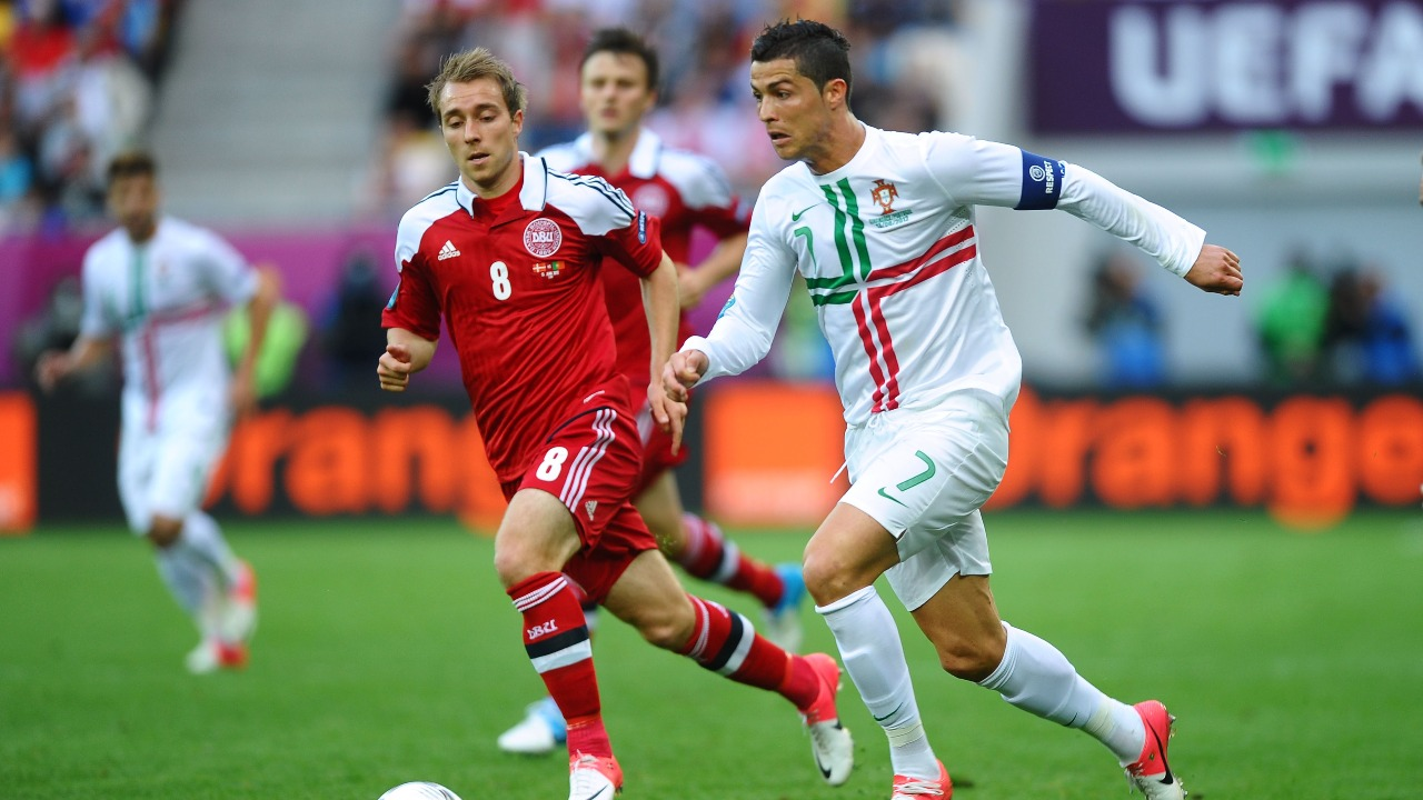 Cristiano Ronaldo Christian Eriksen mensaje lesión desmayo