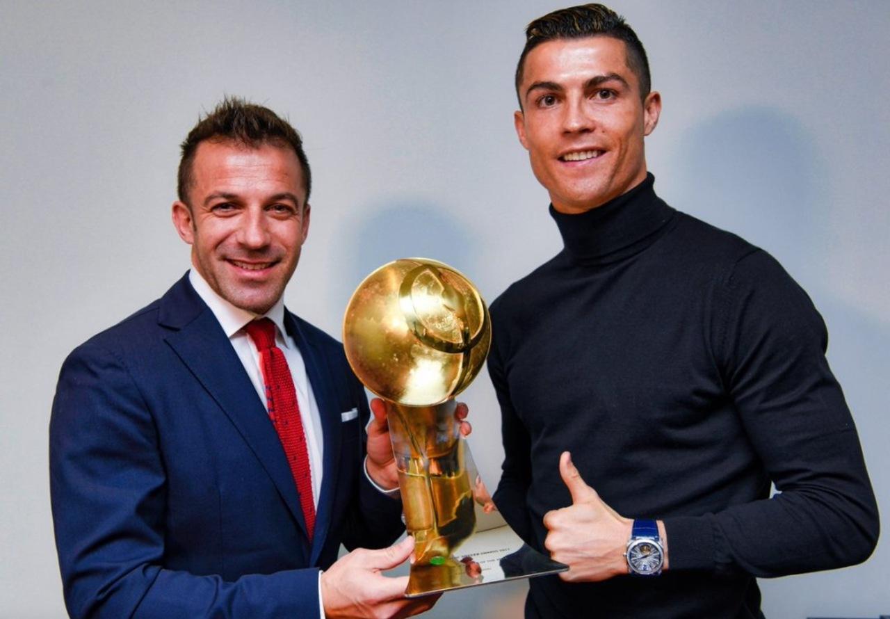 Del Piero Cristiano Ronaldo edad Juventus