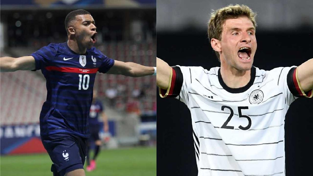 Eurocopa 2020: Francia y Alemania revelan sus alineaciones para su debut