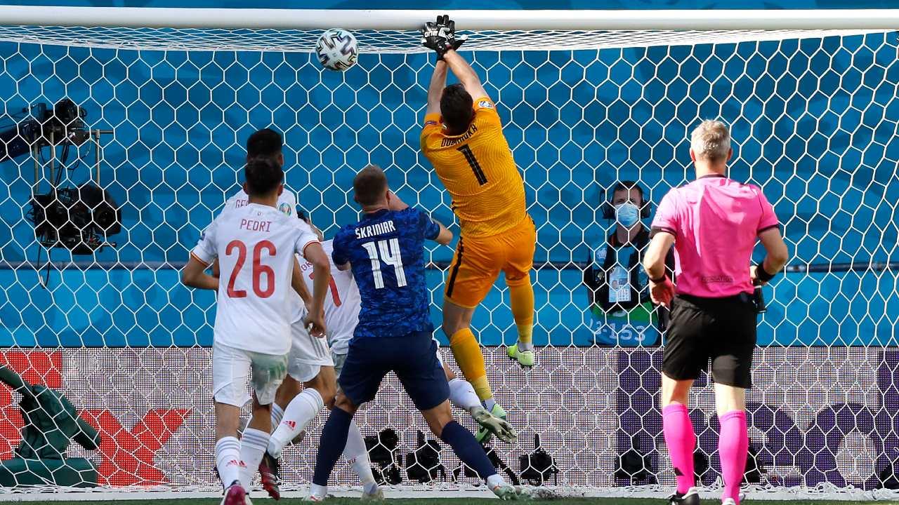Eurocopa 2020: Martin Dubravka, arquero de Eslovaquia, comete el peor error de todo el torneo
