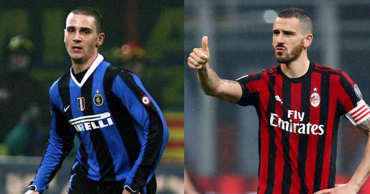Jugadores Inter AC Milan Leonardo Bonucci