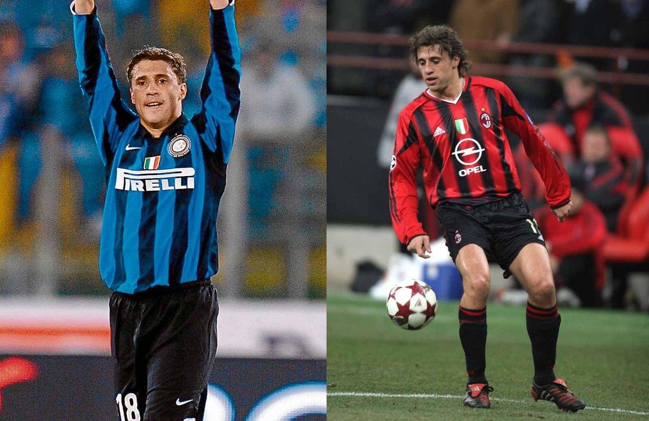 Jugadores Inter AC Milan Hernán Crespo