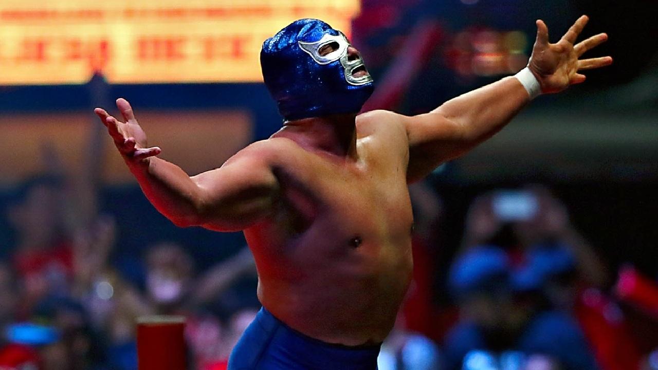 blue demon estatura mistico lucha libre
