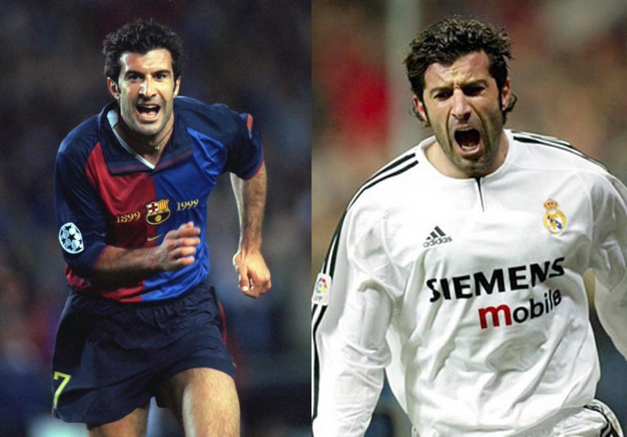 Traiciones jugadores futbol mundial Luis Figo