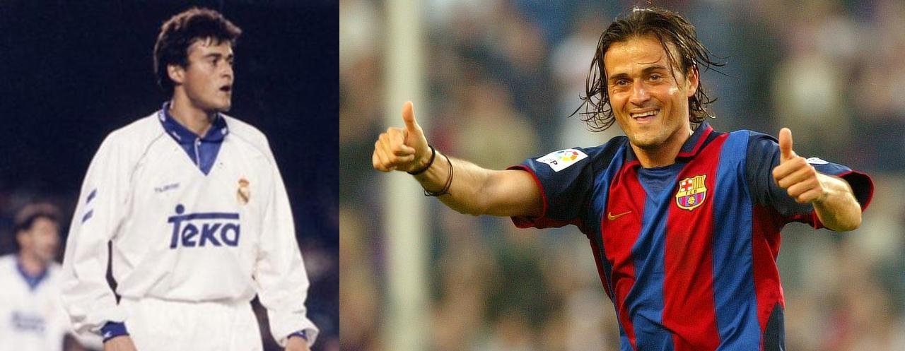 Traiciones jugadores futbol mundial Luis Enrique