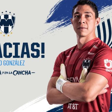 Liga MX: Monterrey anuncia la salida de Hugo González